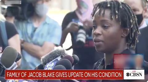 美被枪击非裔男子瘫痪 其姐姐:警察一直在谋杀我们