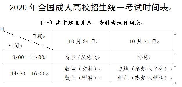 教导部:天下成人高考10月24日开考 谨防滥竽充数