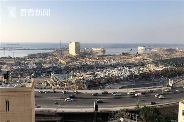 大爆炸后 黎巴嫩贝鲁特港恢复100%运转能力
