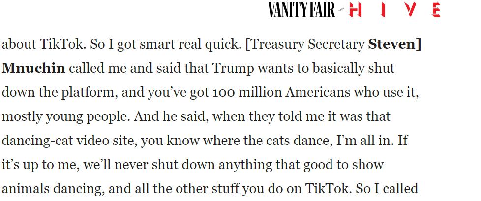 特朗普盟友的子女都反对封杀TikTok,有的还哭了……