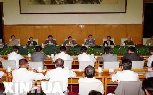 △第三次西藏工作座谈会开幕现场