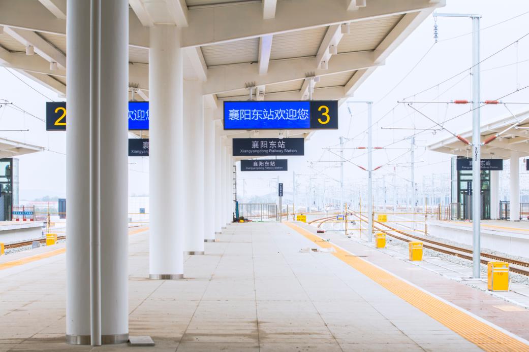 完成!从襄阳到广州和上海的高速铁路即将开通