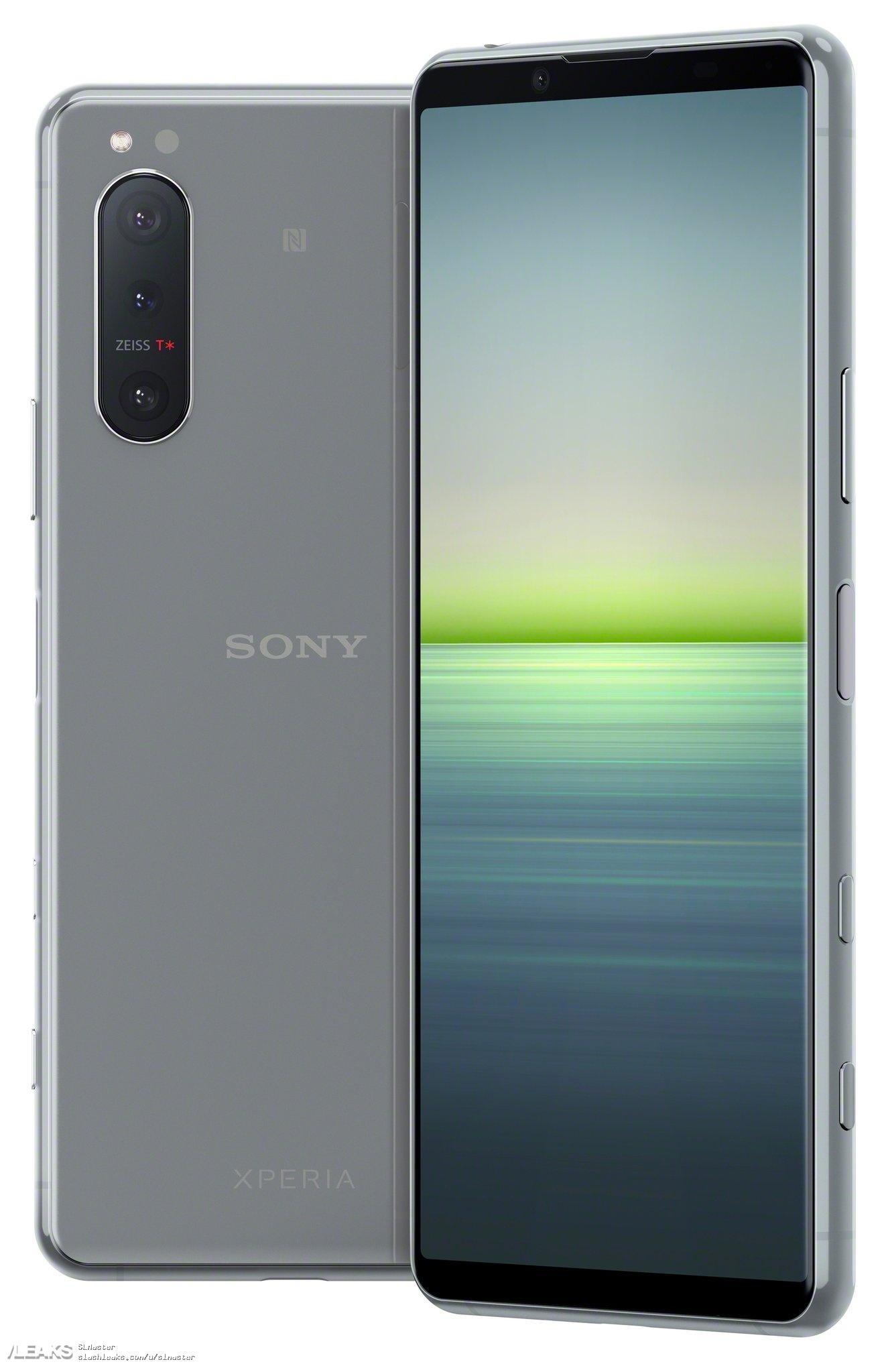 索尼 Xperia 5 II 官方高清渲染图曝光