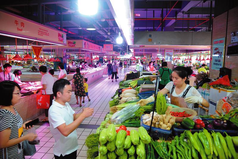 兴宁区东沟岭综合农贸市场落实主体责任