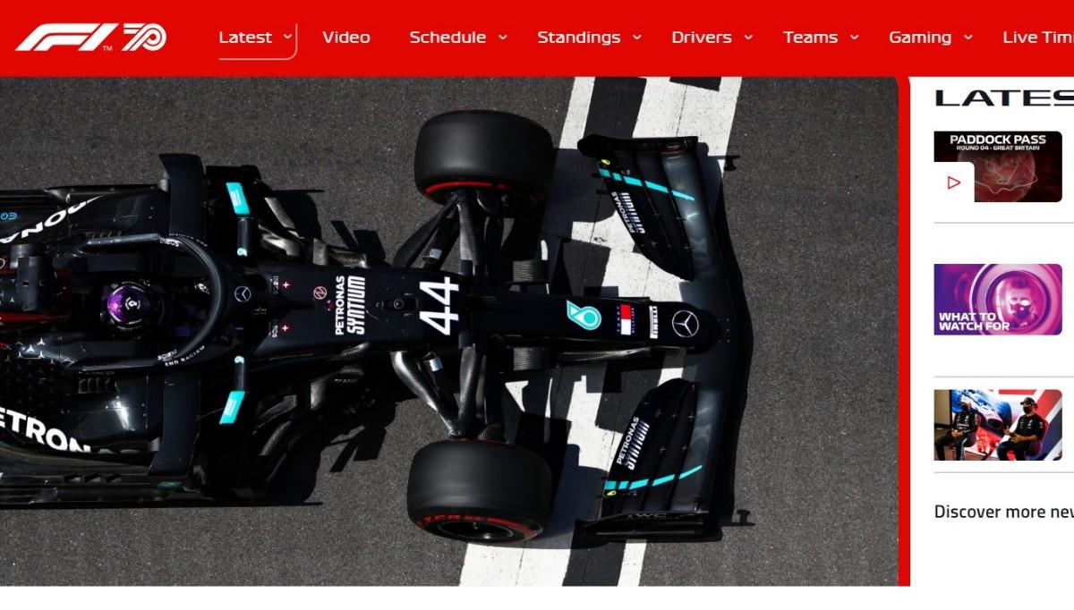 一级方程式英国大奖赛排位赛 汉密尔顿夺第91杆