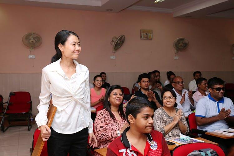 孟买大学孔子学院课堂,图自官网