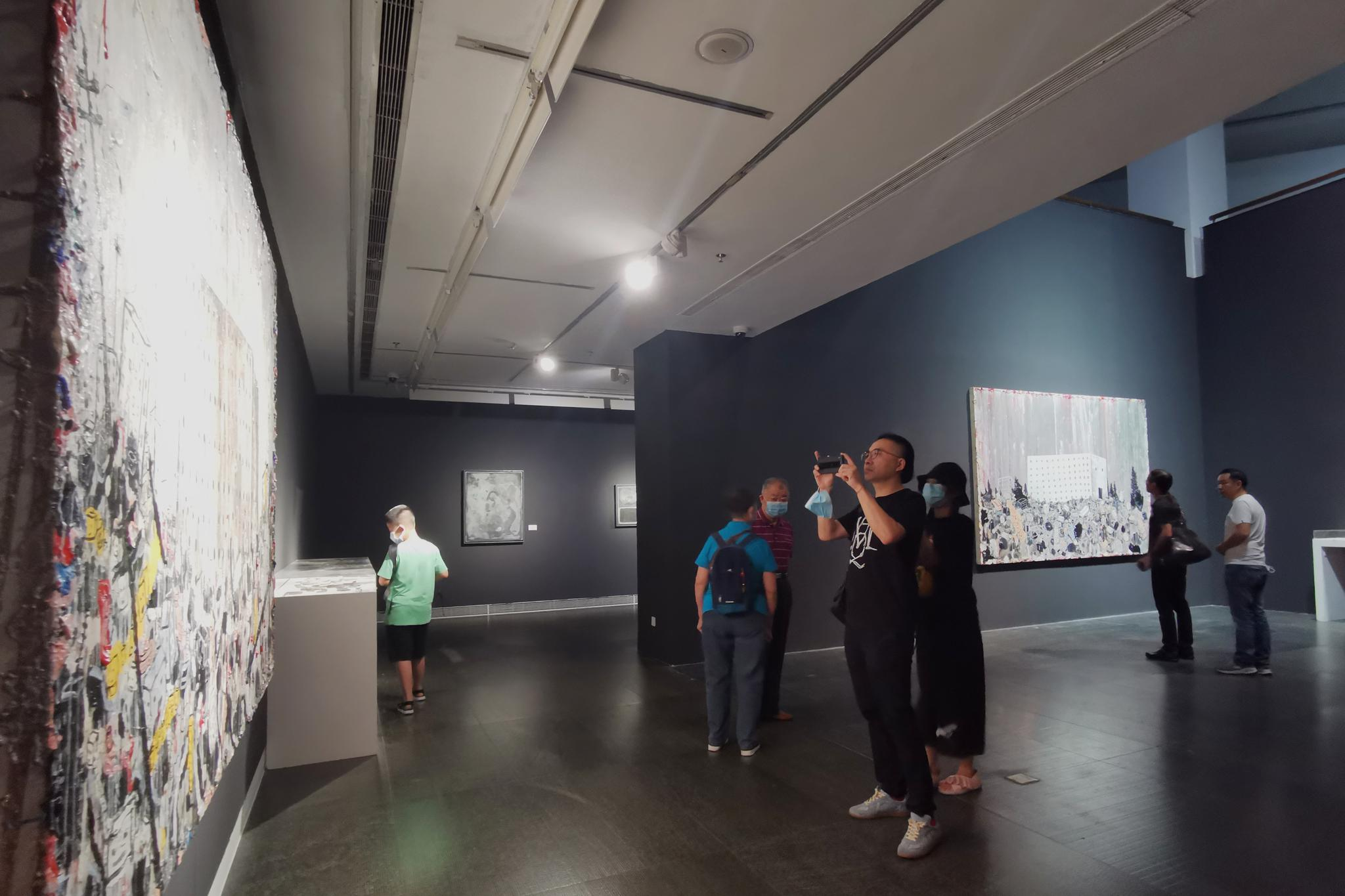 """""""介入与再造——当代绘画的图像方式""""在广东美术馆开展"""