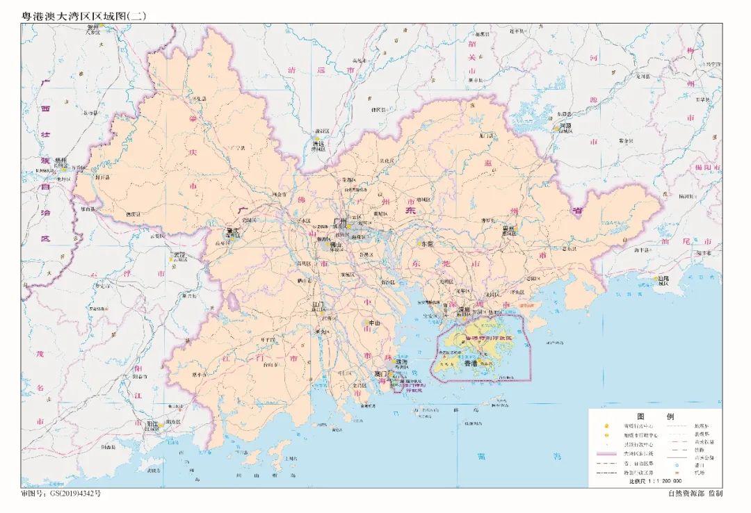 收藏!最新版标准中国地图发布(图)