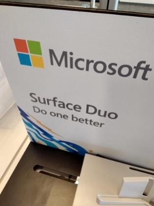 微软Surface Duo早期样张曝光:表现好于预期