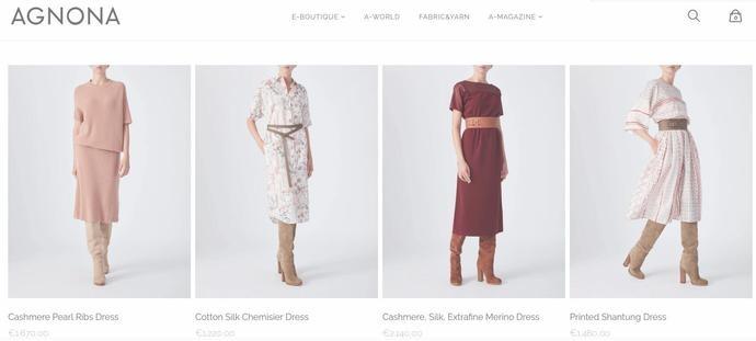 杰尼亚集团出售旗下女装品牌Agnona70%股权