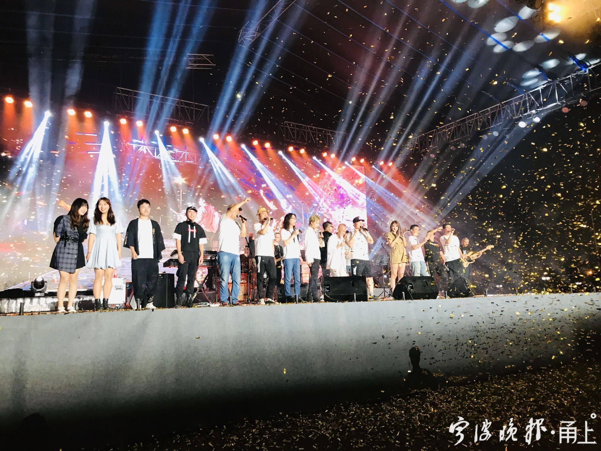 宁波新乡村夏季音乐会在杭州火爆开唱 陈彼得张楚都来了