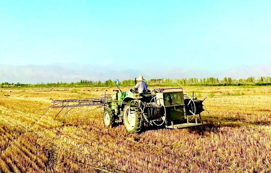 禾硕全力为冬小麦播种前期做准备