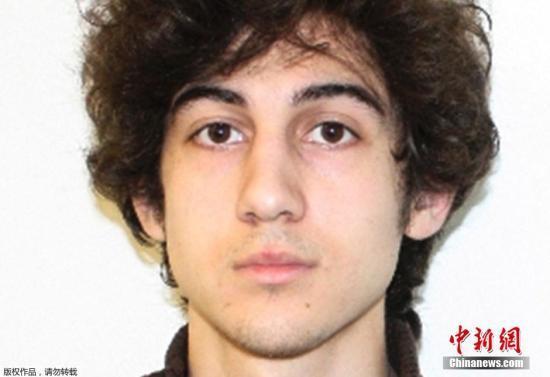 资料图:美国波士顿马拉松爆炸案嫌犯萨纳耶夫。