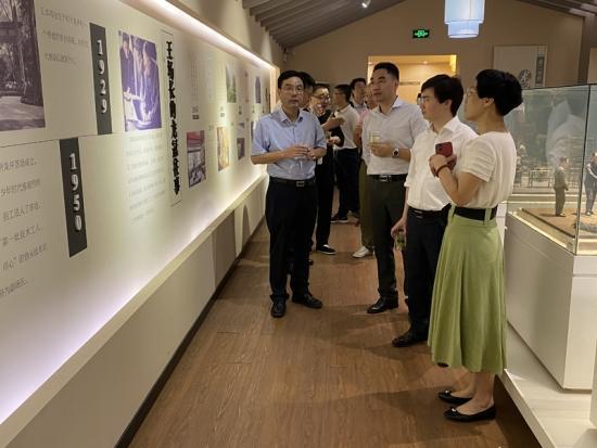葛小松总裁考察中国农业科学院茶叶研究所,开启全面战略合作