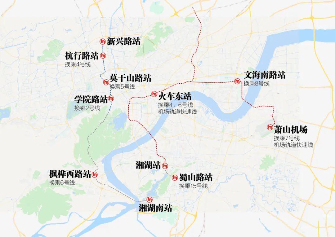 """地铁四期猜想②:西湖腹地+湘湖被地铁""""包圆""""?"""