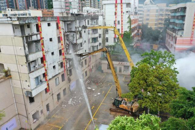 """盐田第一个棚改项目迎来""""首拆""""力争年底开工建设 建成后将提供约1000套人才住房"""