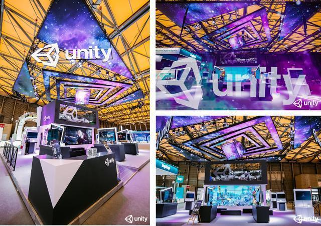 18款游戏大作燃爆2020ChinaJoy, Unity多维虫洞展台吸睛
