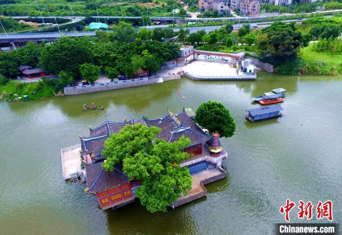 [摩臣2APP下载]福州水上唯一寺庙—图片