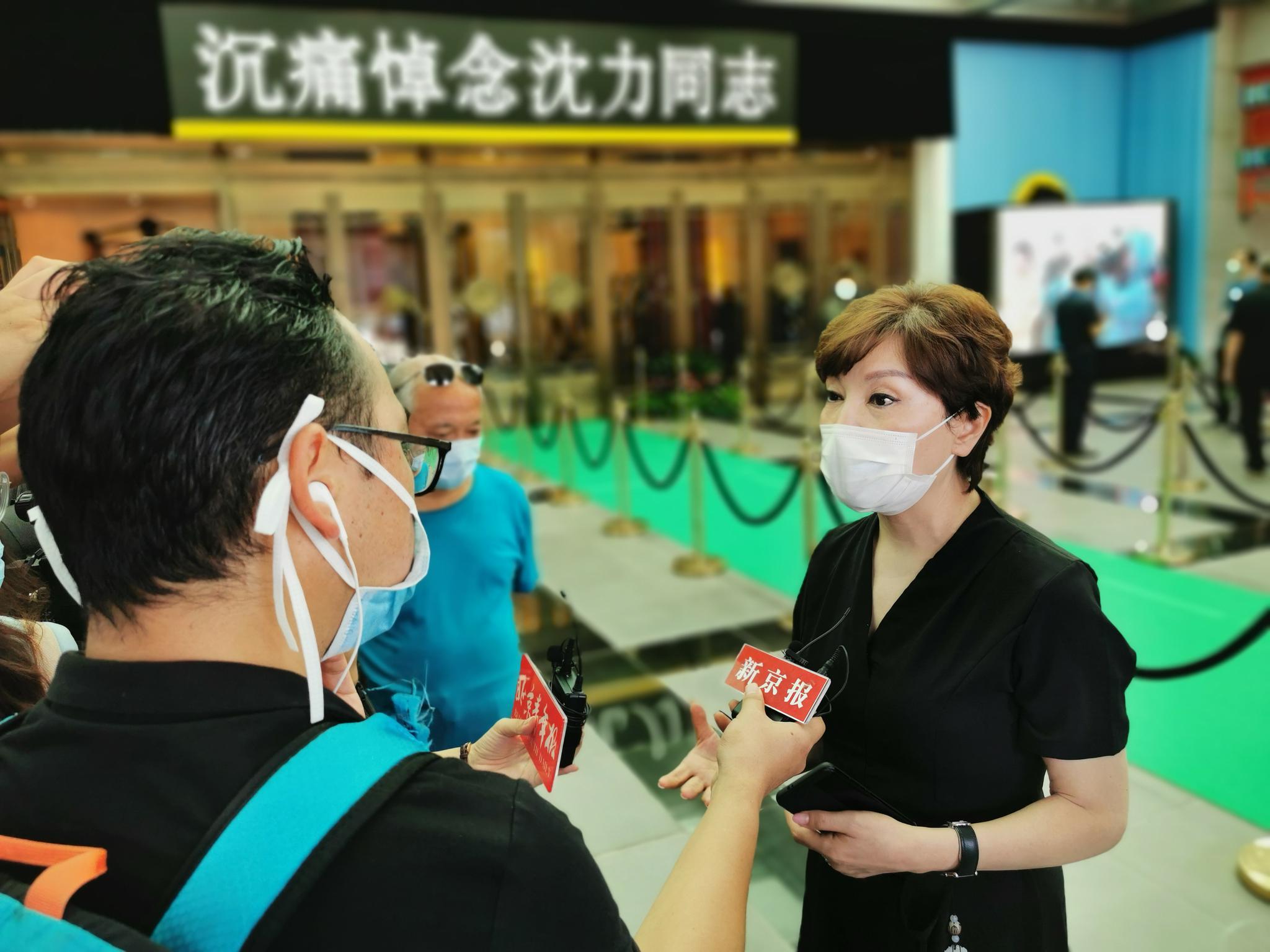 李瑞英担当采访。图/视觉中国
