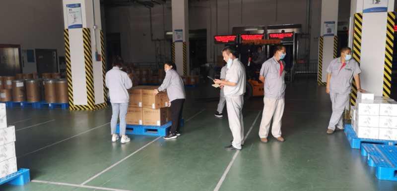 石药21万盒阿比多尔发往新疆