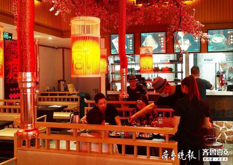 爱上济南!山师毕业的韩国美女研究生在洪楼开起韩餐厅