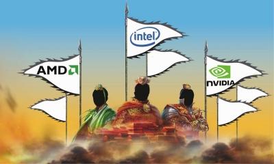 """拐点将至?英特尔、AMD、英伟达""""三国杀"""""""