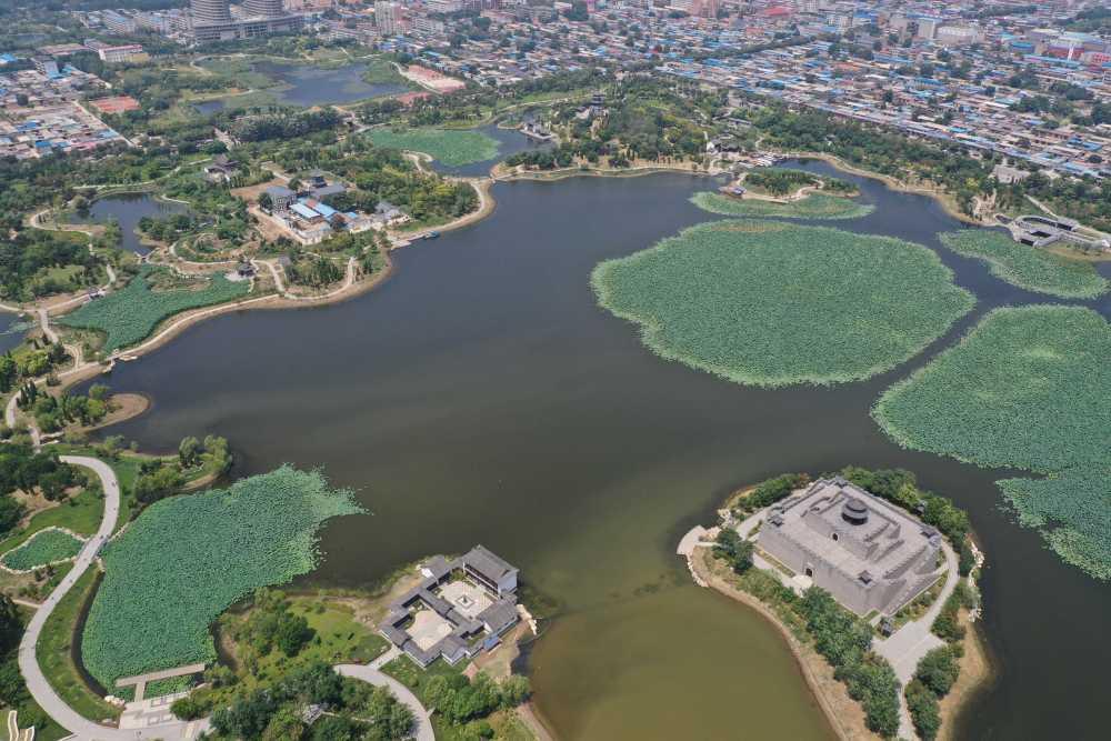 河北河间:打造城市游园 绘就生态底色