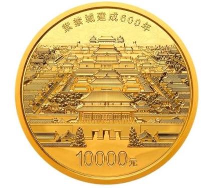 """紫禁城建成600年金银纪念币发行 """"紫禁城最贵地图""""到底有多难抢?"""