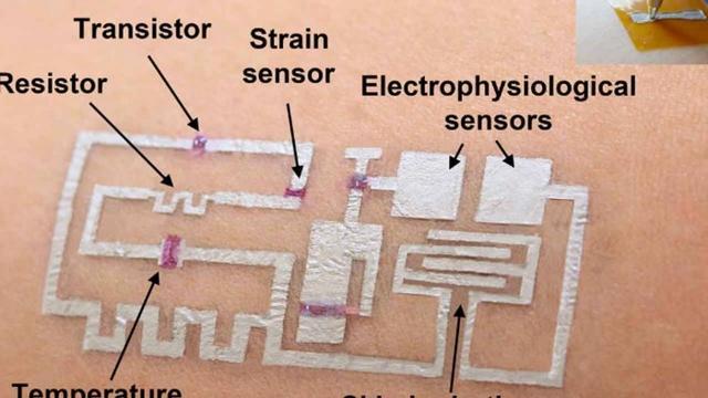 休斯敦大学研究人员创造了画在皮肤上的电子产品