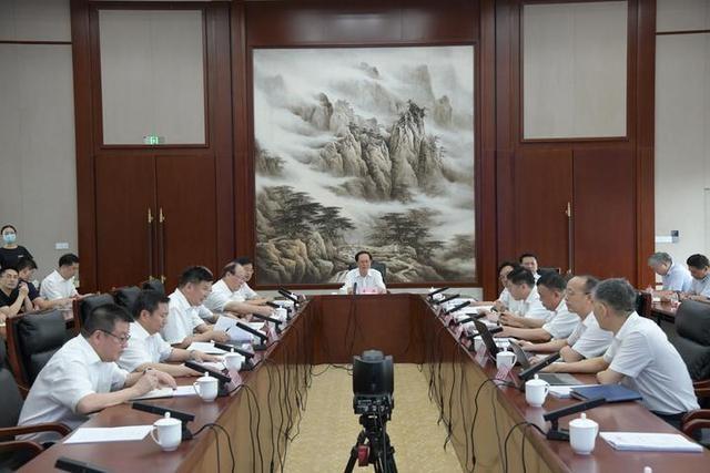 """车俊袁家军赴省防指检查指导台风""""黑格比""""防御工作"""