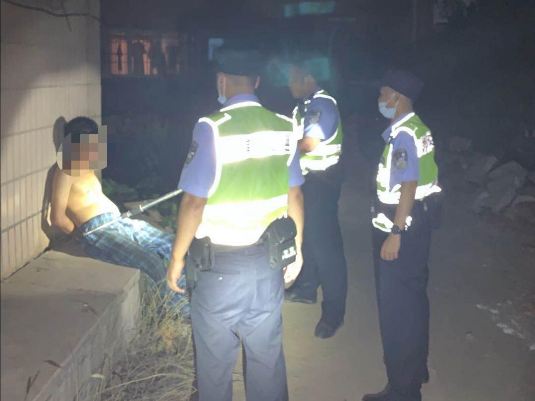 河北邯郸交巡警复兴一大队快速反应 抓获一名现行命案犯罪嫌疑人