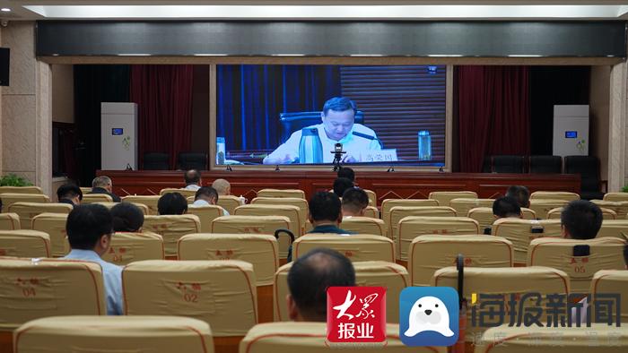 菏泽市开发区收看全市信访工作视频会议