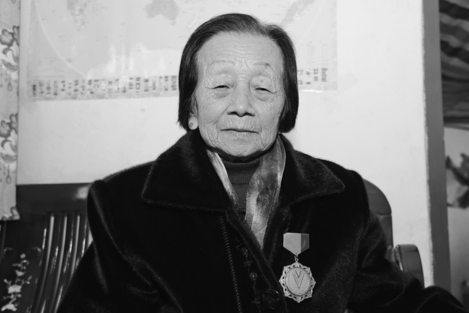 广东抗战女兵左锦秋逝世 享年93岁