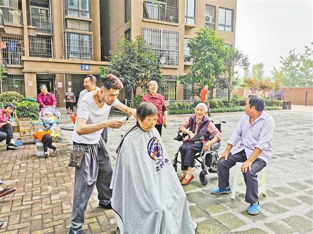 大渡口百佳园社区居民自治会涵养文明和谐民风
