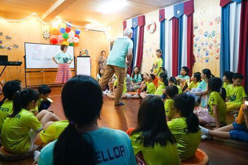 珠海横琴星乐度多国文化国际夏令营开营