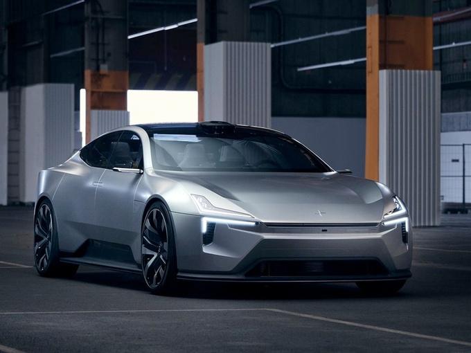 极星全新电动车曝光,即将投产!尺寸比S90还要大,竞争奔驰EQS