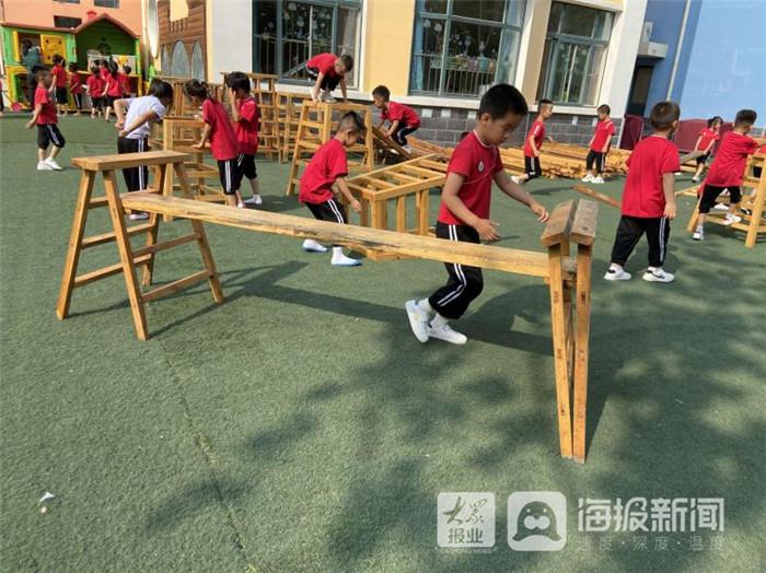 """利津县第三实验幼儿园组织开展""""倡导游戏精神促使幼儿园游戏课程化""""培训活动"""