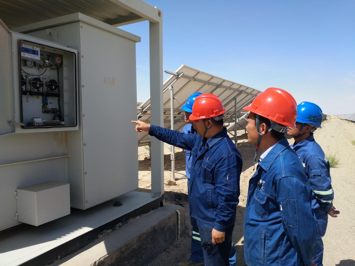 """瓜州县""""把脉问诊"""" 除企业用电隐患"""