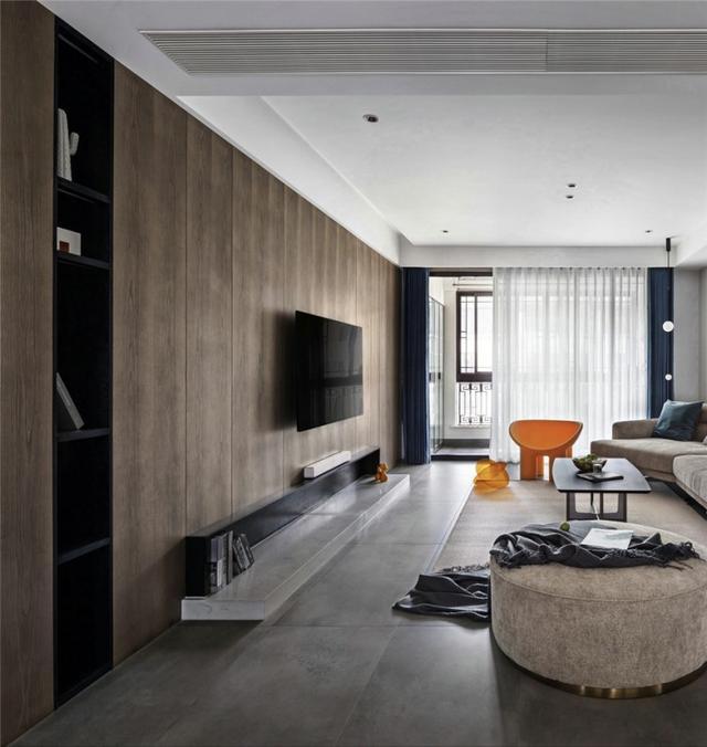 128平米的现代风装修这套三居室简直就是让人宁静的心灵港湾-首地云梦台装修