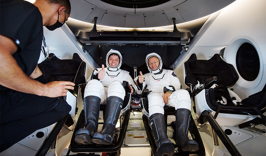 SpaceX返航
