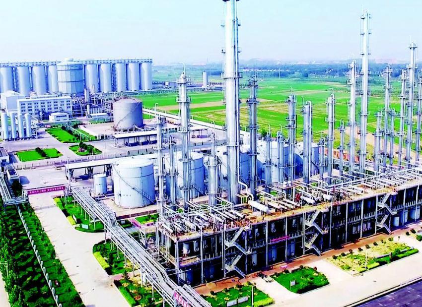 清徐精细化工循环产业园年底将投产达效