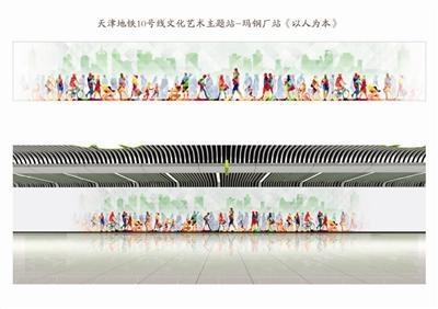"""天津这7座地铁车站未来将成""""网红打卡地"""""""