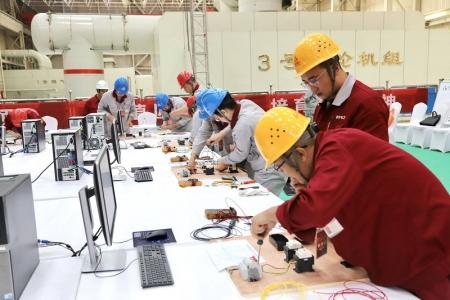 晋能集团电力板块开展发电企业职工职业技能竞赛