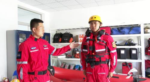 66秒丨救援人员24小时值守!潍坊首个应急救援服务站了解下