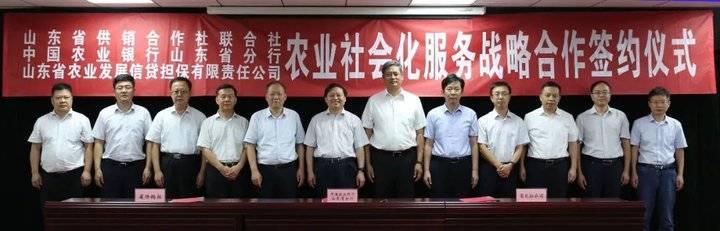 农行山东省分行与人保财险山东省分公司签署战略合作协议