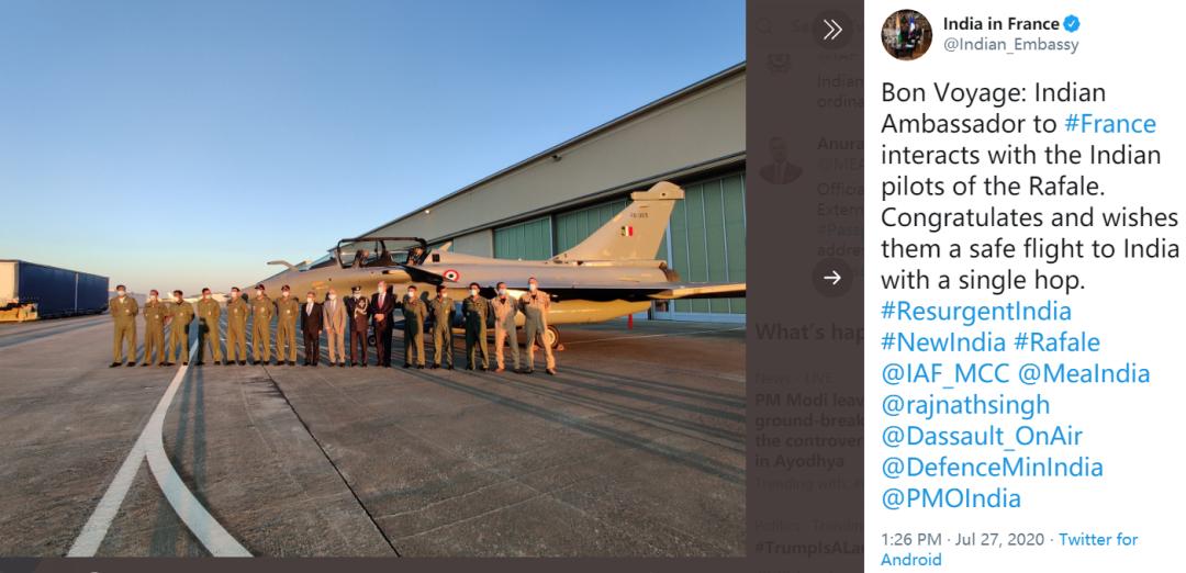 """印度上当了?网友发现印度新买的""""阵风""""战机有问题"""