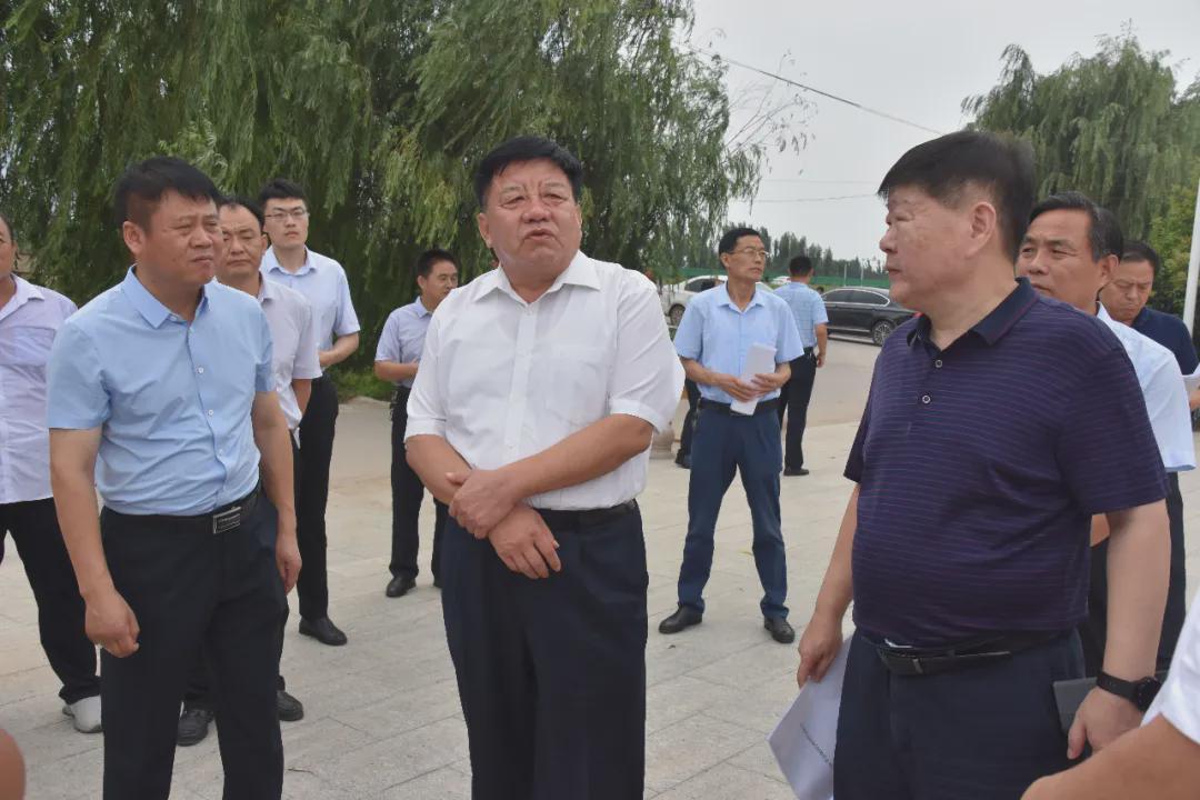 副市长任晓旺来莘县督导检查农村生活污水治理工作