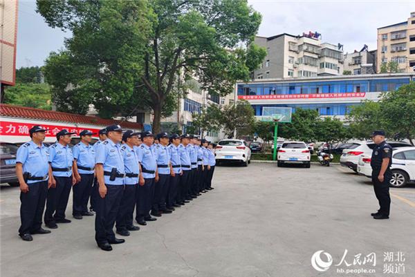 湖北丹江口:村干部兼职辅警 打通为民服务最后一公里