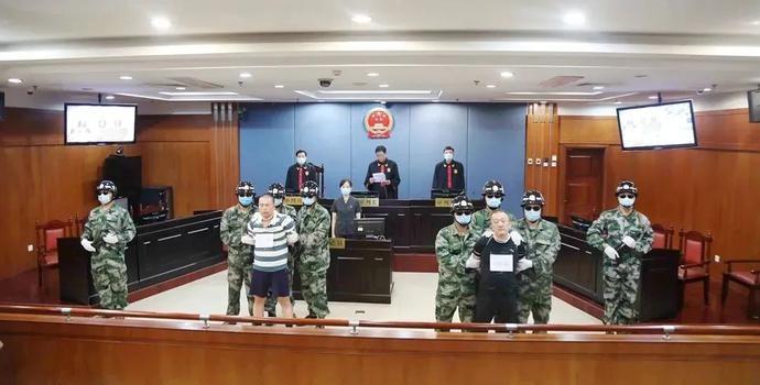 济南市中级人民法院对故意杀人犯杨胜葵、王虎执行死刑!