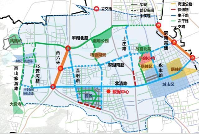 580公里测试道路将全开放,中关村科学城智能网联新规划披露